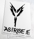 As I Rise Sticker